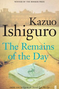 'The Remains of the Day' by Kazuo Ishiguro