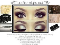 Get the look for ladies night out with Younique cosmetics! Younique offers naturally based, high-end cosmetics that leave you looking flawless! Get the look here: www.youniqueproducts.com/karlysluxelashes -- OR share the love & host your own online party to earn yourself FREE & HALF-PRICED products without even leaving your home! Visit my site for more info!
