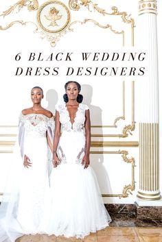 6 Black Wedding Dress Designers to Wear on the Big Day http://klassykinks.com/6-black-wedding-dress-designers-wear-big-day/