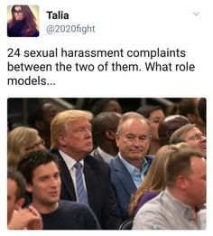 Two sexual predators: Orange idiot and his buddy, Bill. Republican Party, Role Models, Feminism, Equality, Donald Trump, Presidents, Religion, America, History
