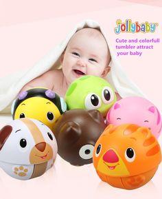赤ちゃん電子玩具かわいいカラフルな幼児子供動物のおもちゃボール漫画タンブラー子供教育ミュージカルおもちゃスクーター