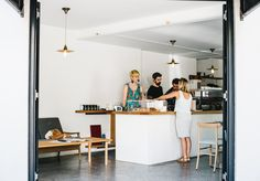 Edition Coffee Roasters Opens, a Nordic-Japanese new cafe in Darlinghurst - Broadsheet Sydney - Broadsheet Cafe Restaurant, Restaurant Design, Best Interior Design, Interior Decorating, News Cafe, Coffee Shop Design, Cafe Shop, White Tiles, Apartment Interior