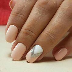 Нежный маникюр Latest Nail Art, Nail Arts, Fashion Art, Gorgeous Nails, Ongles, Nail Art, Nail Design