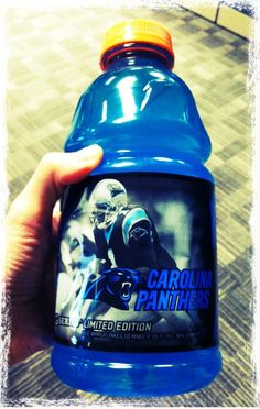 new Limited Edition Cam Newton Gatorade. So is this what they mean by Cammy Cam Juice?