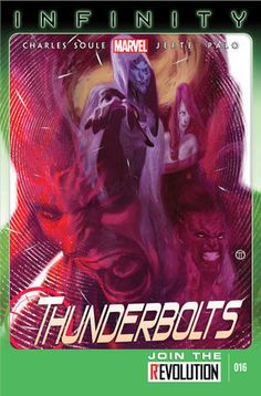 THUNDERBOLTS Vol2 16 (2013) by Julian Totino TEDESCO | Beautiful COVERS of Marvel COMICS