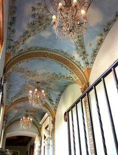 1000 Images About Ceilings On Pinterest Painted Ceiling