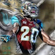 Telvin Smith linebacker for the Jacksonville Jaguars.