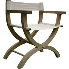 Awesome Our Beach Directoru0027s Chair Is Made Of A Grade Teak, Marine Grade #316  Stainless Steel And Batyline® Mesh And Itu0027s Collapsible For Easy Storage.  #teu2026