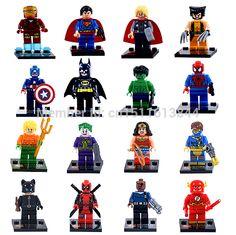 32 pçs/lote Marvel Super Heroes figuras The Avengers blocos define Minifigures Classic Toys Bricks compatível com Lego em Brinquedos & Lazer de no AliExpress.com | Alibaba Group
