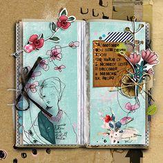#liliwee #the_lilypad #digiscrap #digitalscrapbooking #scrapbook #scrapbooking #layout #artjournaling #digitalartsylayout #travelersnotebook #arttherapy #thevalueofamoment