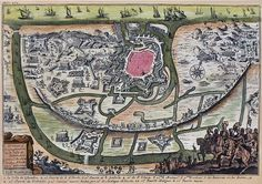 Map of Oostende (1601)