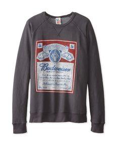 742a99263aa0d7 Junk Food Men s Budweiser Sweatshirt at MYHABIT