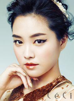 APink's Na Eun CéCi Korea Magazine January Issue '13