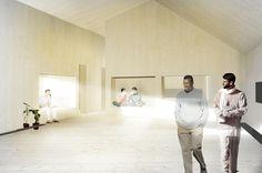 SANDEN+HODNEKVAM Space, Coat, Floor Space, Sewing Coat, Peacoats, Coats, Jacket, Spaces