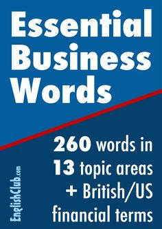 Vocabulary for success