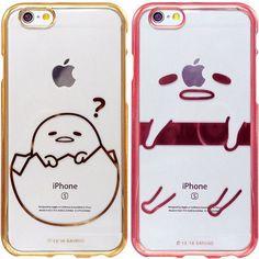 Genuine Gudetama Metal Jelly Case iPhone 7 Case iPhone 7 Plus Case 6 Types Case #Sanrio