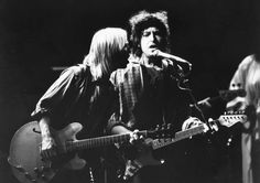 Tom Petty: Life and career in pictures  -  October 2, 2017:  He teamed up with music legends Bob Dylan, George Harrison, Roy Orbison and Jeff Lynne to form the supergroup Traveling Wilburys. They released their first album in 1988.  (Pictured) Tom Petty and Bob Dylan, with the band Traveling Wilburys, performing on stage in 1987.