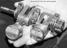 Between 1962 and 1965 Honda made four different twin cylinder Grand Prix racing motorcycles.