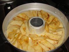 [foto] ciambella di mele e pesche pentola fornetto