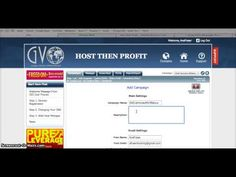 GVO   How To Create a Campaign   Autoresponder (by A Fray)  http://www.gvofuture.com Manage your business, and place tedious task on autopilot