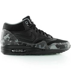 nike AIR MAX 1 MID FB black