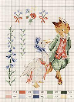 Милые сердцу штучки: Вышивка крестом: Le monde de Beatrix Potter от Veronique…