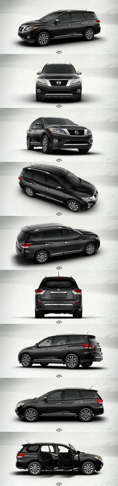 I want this - 2014 Nissan Pathfinder SL Front-wheel Drive... Exterior Color: Super Black Interior Color: - Charcoal Leather