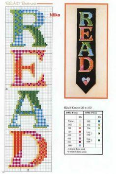 'READ' bookmark