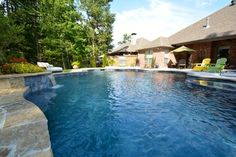 Hogue Project - Pool - Little Rock - Parrot Bay Pools & Spas