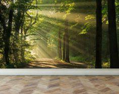 Cascade murale mur dans la structure deep Forest par RoyalWallSkins