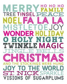 Christmas Subway Art, Christmas Art, Beach Christmas, Christmas Patterns, Christmas Ornament, Merry Christmas To All, Christmas Quotes, Christmas Activities, Christmas Printables