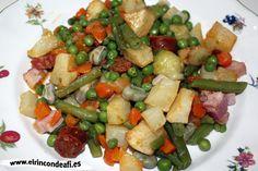 Menestra de verduras.