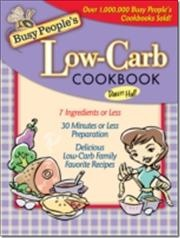 Busy Peoples Low-Carb Cookbook af Dawn Hall, ISBN 9781418579272