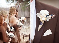 vintage wedding favors ideas | cotton wedding blooms for vintage inspired weddings