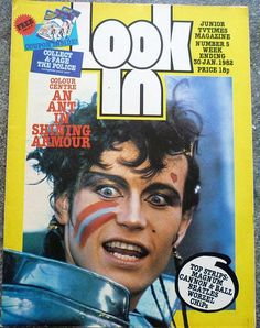 Look-In Jan 1982 ft. Adam Ant