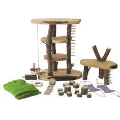 decor puppenbaumhaus spielsachen aus holz pinterest zwerg fee und holz. Black Bedroom Furniture Sets. Home Design Ideas