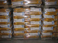 Soybean Seed Production - packaged in bags for distribution across Ontario