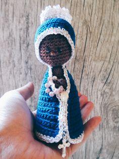 Nossa Senhora Aparecida amigurumi.