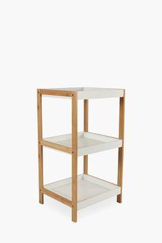 3 Tier Bamboo Shelf - Shop New In - Furniture - Shop Outdoor Wood Furniture, Modern Furniture, Office Bookshelves, Bamboo Shelf, Home Office Furniture, Wall Shelves, Floating Shelves, Modern Design