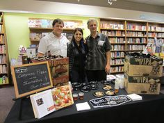 """The crew from Karl Strauss at our """"Brew Food"""" event in 2012. http://www.flickr.com/photos/warwicksbooks/sets/72157632163505994/"""