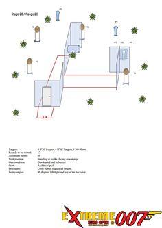 Stage 28 / Range 26: 3 IPSC Popper, 12 IPSC Targets, 2 No-Shoot, 2 IPSC Metal Plates