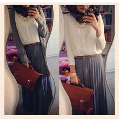 One of the best outfit hijaabis can get!!!!                              …