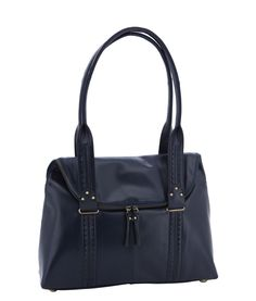 Spencer and Rutherford - Handbags - Kettle Shoulder Bag - Una - Prussian Blue