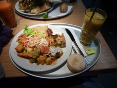 Tasty meal from Tibits, London