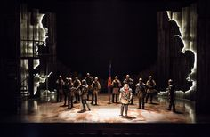 Henry IV (Parts 1 and 2). Shakespeare Theatre. Scenic design by Alexander Dodge.
