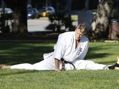 Dolph Lundren...  I love a flexable man..ooooooh:)