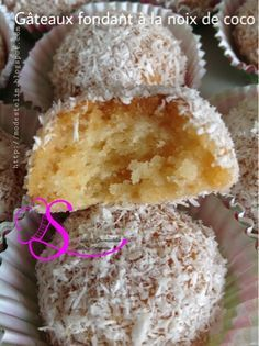 Delight and gluttony Algerian recipes: Fondant cakes without eggs Algerian Recipes, Desserts With Biscuits, Cheesecake Cupcakes, Rice Cakes, Biscuit Recipe, Food Humor, Pasta, Fondant Cakes, Food And Drink