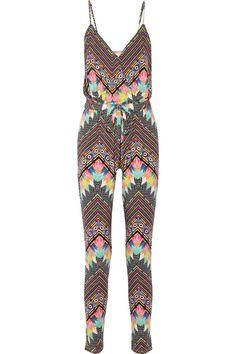 Mara Hoffman Printed stretch-modal jumpsuit