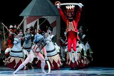 Pacific Northwest Ballet's Nutcracker - Set and costume design by Maurice Sendak.