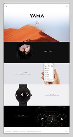 Websites We Love — A showcase of effective and beautiful web design – www.mindsparklemag.com , Design, agency, portfolio, websites, webdesign, designer,  colorful, colors, web, responsive, minimal, presentation, beauty, mindsparkle, magazine, mindsparklemag, yama